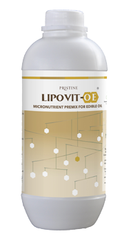 pristine Lipovit-OE custom premix for oil fortification
