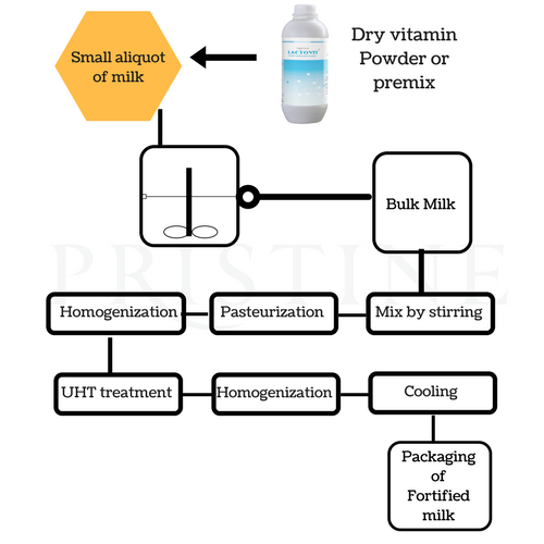 Milk Fortification Process Powder