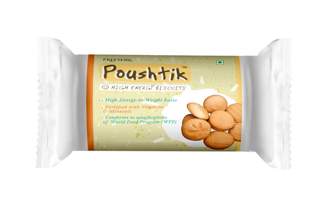 High Energy Biscuits - Pristine Premixes - Poushtik - Foods for malnutrition